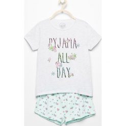 Dwuczęściowa piżama z szortami - Jasny szar. Szare bielizna dziewczęca Reserved. W wyprzedaży za 24,99 zł.