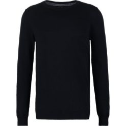 Swetry klasyczne męskie: Bertoni FREDERIK  Sweter jet black