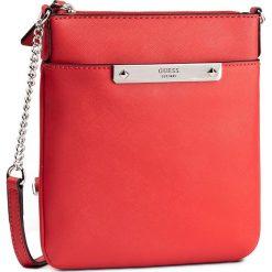 Saszetka GUESS - Britta (VY) Mini-Bag HWVY66 93700 LVA. Czerwone listonoszki damskie Guess, z aplikacjami. W wyprzedaży za 199,00 zł.