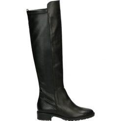 Kozaki - 26023 ROC NER. Czarne buty zimowe damskie marki Venezia, ze skóry. Za 389,00 zł.
