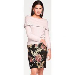 Odzież damska: Sweter w kolorze jasnoróżowym