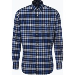 Gant - Koszula męska, niebieski. Niebieskie koszule męskie na spinki GANT, m, w kratkę. Za 449,95 zł.