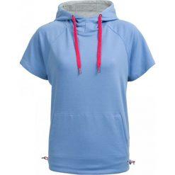 Bluza damska BLD603 - niebieski - Outhorn. Niebieskie bluzy z kieszeniami damskie Outhorn, na lato, z bawełny. W wyprzedaży za 49,99 zł.