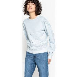 Bluza. Szare bluzy damskie marki La Redoute Collections, m, z bawełny, z kapturem. Za 126,38 zł.