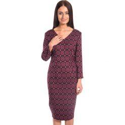 Sukienki: Sukienka w geometryczne wzory BIALCON