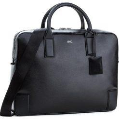 Torba na laptopa BOSS - Digital 50311987 Black 001. Czarne plecaki męskie marki Boss. W wyprzedaży za 1109,00 zł.