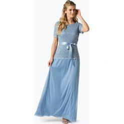 Sukienki: Ambiance – Damska sukienka wieczorowa, niebieski
