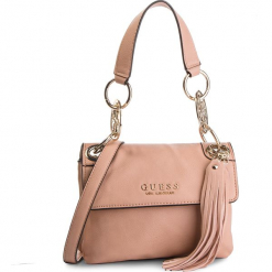 Torebka GUESS - HWVG70 94180  LTR. Czerwone torebki klasyczne damskie marki Guess, z aplikacjami, ze skóry ekologicznej. Za 539,00 zł.