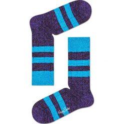 Happy Socks - Skarpety Wool. Niebieskie skarpetki męskie Happy Socks, z elastanu. W wyprzedaży za 49,90 zł.
