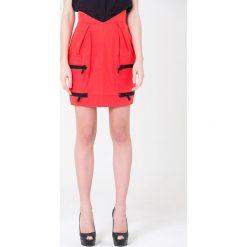 Minispódniczki: Spódnica w kolorze czerwonym