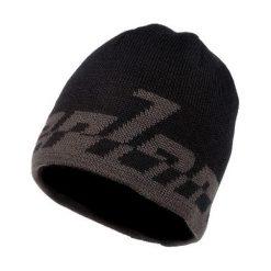 Czapki męskie: NEVERLAND Czapka męska Logo Beanie czarna (P-04-LOGOBEANIE-110-UNI)