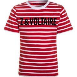 T-shirty chłopięce z nadrukiem: Zadig & Voltaire KURZARM  Tshirt z nadrukiem weiß/rot