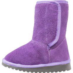 POLOLO NEVADA Kozaki lilac. Fioletowe buty zimowe damskie marki POLOLO, z materiału, na wysokim obcasie. Za 389,00 zł.