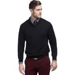 Sweter ROCCO 15-61SR. Czarne swetry klasyczne męskie Giacomo Conti, na jesień, m, z tkaniny. Za 299,00 zł.