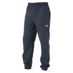 Spodnie dresowe męskie: Umbro Spodnie Dresowe M Wells Blue Melange S