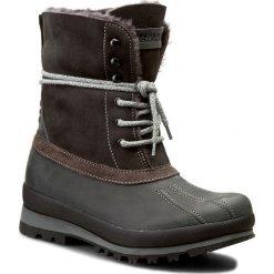Śniegowce NAPAPIJRI - Greta 13741530 Dark Grey N88. Szare buty zimowe damskie marki Napapijri, ze skóry. W wyprzedaży za 519,00 zł.