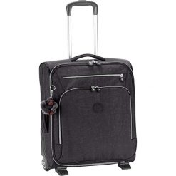 """Walizka """"Youri 50"""" w kolorze czarnym - 40 x 50 x 20 cm. Czarne walizki marki Kipling, z materiału. W wyprzedaży za 295,95 zł."""