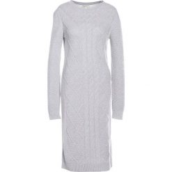 Sukienki dzianinowe: Barbour EMMANUEL Sukienka dzianinowa light grey marl