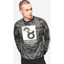 Bluzy męskie: Bluza sportowa kolekcja whatever - Khaki