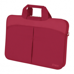 """D-Lex LX-051R-RD 13.3"""" - 14"""" czerwona. Czerwone torby na laptopa D-lex, z materiału. Za 69,90 zł."""
