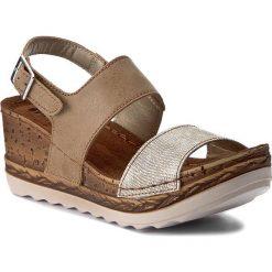 Rzymianki damskie: Sandały INBLU – NT02AO07 Beżowy