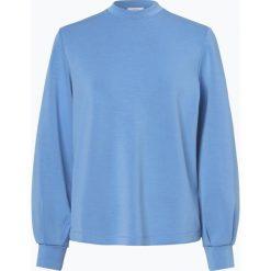 Opus - Damska bluza nierozpinana – Grazina, niebieski. Niebieskie bluzy damskie Opus. Za 269,95 zł.