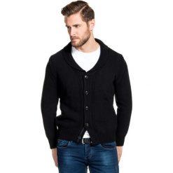Sweter ORAZIO 13-102CS. Brązowe swetry rozpinane męskie Giacomo Conti, na lato, m, z bawełny. Za 259,00 zł.