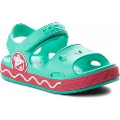 Sandały dziewczęce: Sandały COQUI – Fobee 8851  Mint/New Rouge