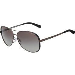Michael Kors Okulary przeciwsłoneczne anthracite. Szare okulary przeciwsłoneczne damskie lenonki marki Michael Kors. Za 499,00 zł.