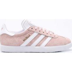 Adidas Originals - Buty Gazelle. Brązowe buty sportowe damskie marki adidas Originals, z bawełny. Za 399,90 zł.