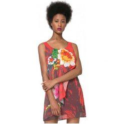 Desigual Sukienka Damska Shayck 42 Wielokolorowy. Różowe sukienki marki Desigual. W wyprzedaży za 229,00 zł.