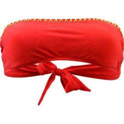"""Biustonosz bikini """"Grimaud"""" w kolorze czerwonym. Czerwone biustonosze z fiszbinami Val d´Azur. W wyprzedaży za 217,95 zł."""