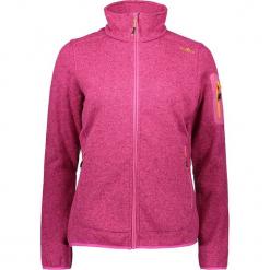 Kurtka polarowa w kolorze różowym. Czerwone kurtki damskie marki CMP Women, z dzianiny. W wyprzedaży za 136,95 zł.