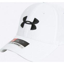 Under Armour - Czapka. Białe czapki z daszkiem męskie Under Armour, z elastanu. W wyprzedaży za 69,90 zł.