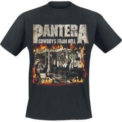 Pantera Cowboys From Hell - Fire Frame T-Shirt czarny. Czarne t-shirty męskie Pantera, xxl, z motywem zwierzęcym. Za 74,90 zł.