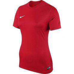 Nike Koszulka damska SS W Park VI JSY czerwony r. M (833058 657). Czarne topy sportowe damskie marki Nike, xs, z bawełny. Za 59,00 zł.