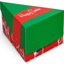 Happy Socks - Skarpetki Holiday Gift Box (3-pak). Zielone skarpetki damskie Happy Socks, z bawełny. Za 99,90 zł.