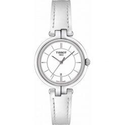 RABAT ZEGAREK TISSOT T - LADY T094.210.16.011.00. Białe zegarki damskie TISSOT, ze stali. W wyprzedaży za 1012,00 zł.