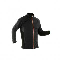 Bluza narciarska XC S 900 męska. Czarne bluzy męskie rozpinane marki INOVIK, l, z elastanu. Za 379,99 zł.
