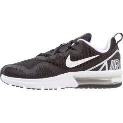 Nike Performance AIR MAX FURY Obuwie do biegania treningowe black/white. Czarne buty do biegania damskie Nike Performance, z materiału. W wyprzedaży za 269,25 zł.