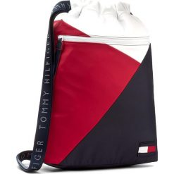 Plecaki damskie: Plecak TOMMY HILFIGER - Tommy Retro Drawstring Backpack AW0AW04869 901