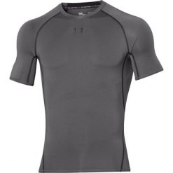 Odzież termoaktywna męska: Under Armour Koszulka męska HeatGear Compression Shortsleeve szara r. XXL (1257468-040)