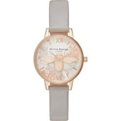 Olivia Burton Zegarek grey lilac. Fioletowe, analogowe zegarki damskie Olivia Burton. Za 749,00 zł.