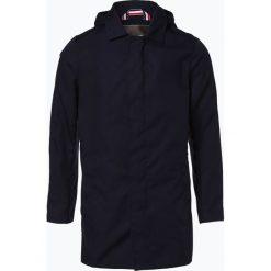 Płaszcze męskie: Finshley & Harding – Płaszcz męski – Black Label, niebieski
