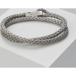 Bransoletki męskie: Miansai IPSUM ROPE BRACELET Bransoletka silvercoloured