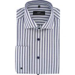 Koszula RICCARDO 15-07-16-K. Czarne koszule męskie marki Giacomo Conti, m, z bawełny, z klasycznym kołnierzykiem. Za 229,00 zł.