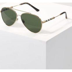 Burberry Okulary przeciwsłoneczne gold/green. Czarne okulary przeciwsłoneczne damskie lenonki marki Burberry. Za 839,00 zł.