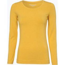 Marie Lund - Damska koszulka z długim rękawem, żółty. Żółte t-shirty damskie Marie Lund, s, z bawełny. Za 69,95 zł.