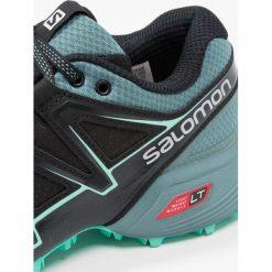 Salomon SPEEDCROSS VARIO 2  Obuwie do biegania Szlak black/north atlantic/biscay green. Czarne buty do biegania damskie Salomon, z gumy, salomon speedcross. W wyprzedaży za 399,20 zł.