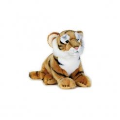 Maskotka DANTE National Geographic Tygrys. Szare przytulanki i maskotki DANTE, z materiału. Za 78,90 zł.